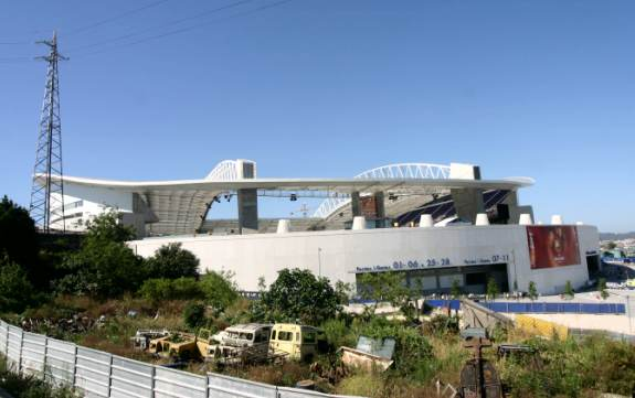 Estadio do Dragão (Porto) - alte Autos und neues Stadion