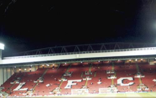 Anfield Road - The Kop (Liverpool-Fantribüne)